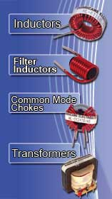 Inductors, Filters, Chokes, Transformers